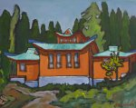 Gompa - Gaden Tashi Choling Retreat, Sproule Creek, BC