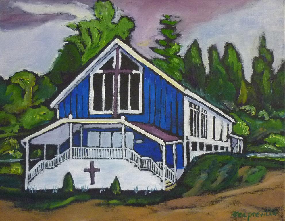 Kinnaird Church of God - Castlegar, BC by Tea Preville
