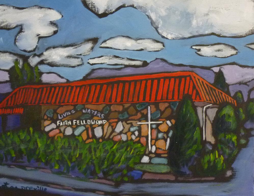 Living Waters Faith Fellowship - Castlegar, BC by Tea Preville