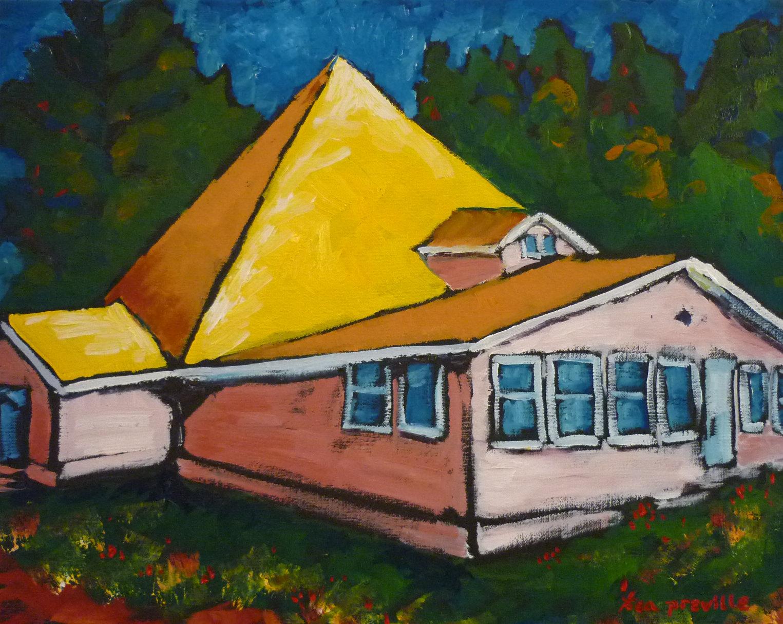 The Pyramid, Krestova, BC by Tea Preville
