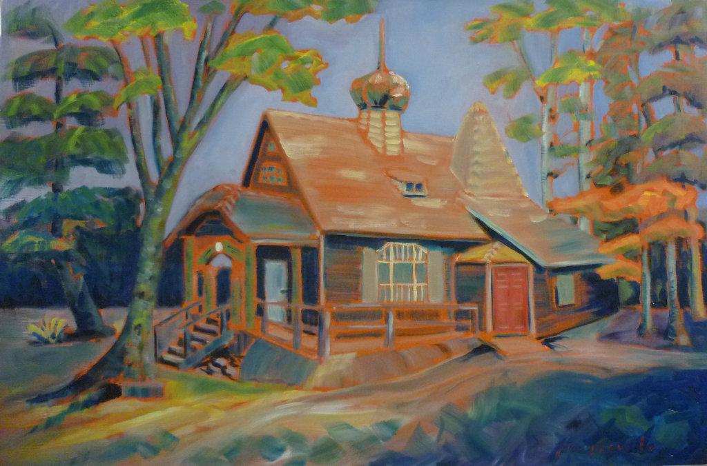Russian Chapel House, Zuckerberg Island, Castlegar, BC by Tea Preville