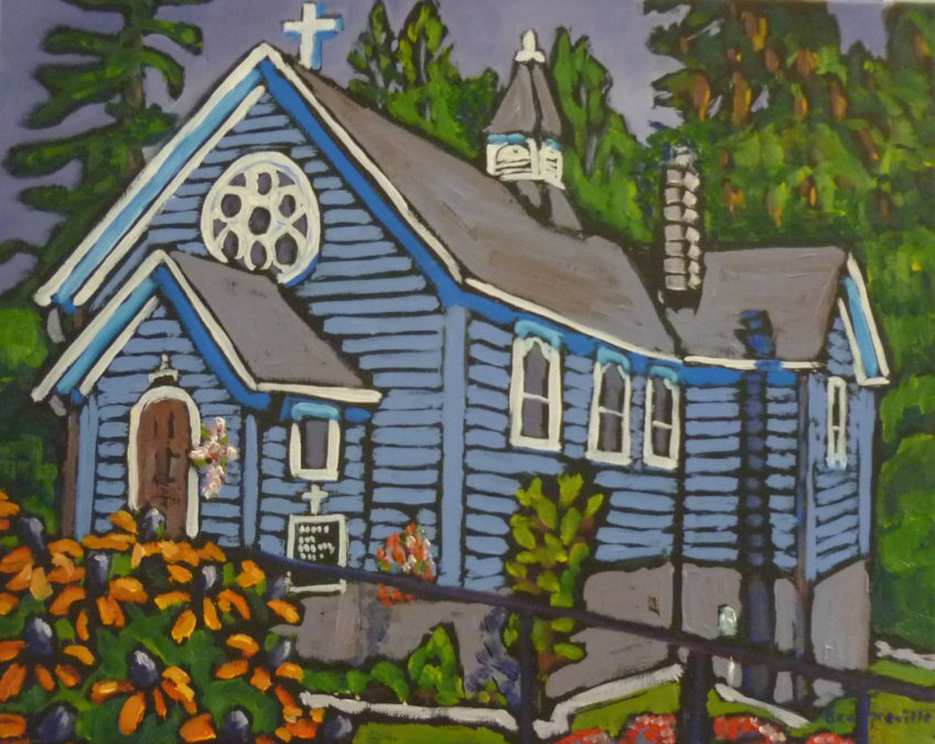 St. Michael & All Angels Anglican Church, Balfour, BC