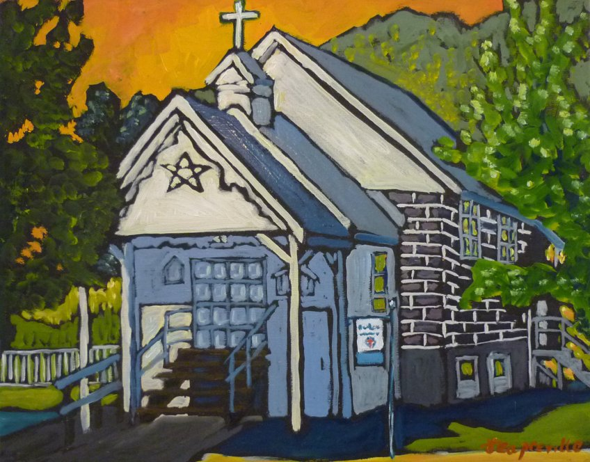 St. Paul's Anglican Church, Salmo, BC