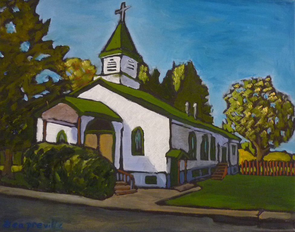 St. Peter Lutheran Church, Castlegar, BC by Tea Preville