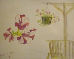 Tea Preville - 1999 - Gazebo - Watercolour