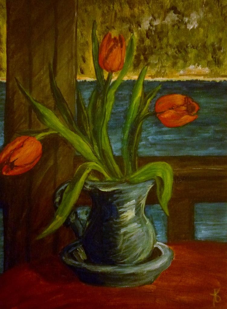Tea Preville - 1999 - Still Life I - acrylic