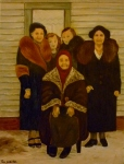 Tea Preville - 2000 - Ladies out of Focus - oil on canvas