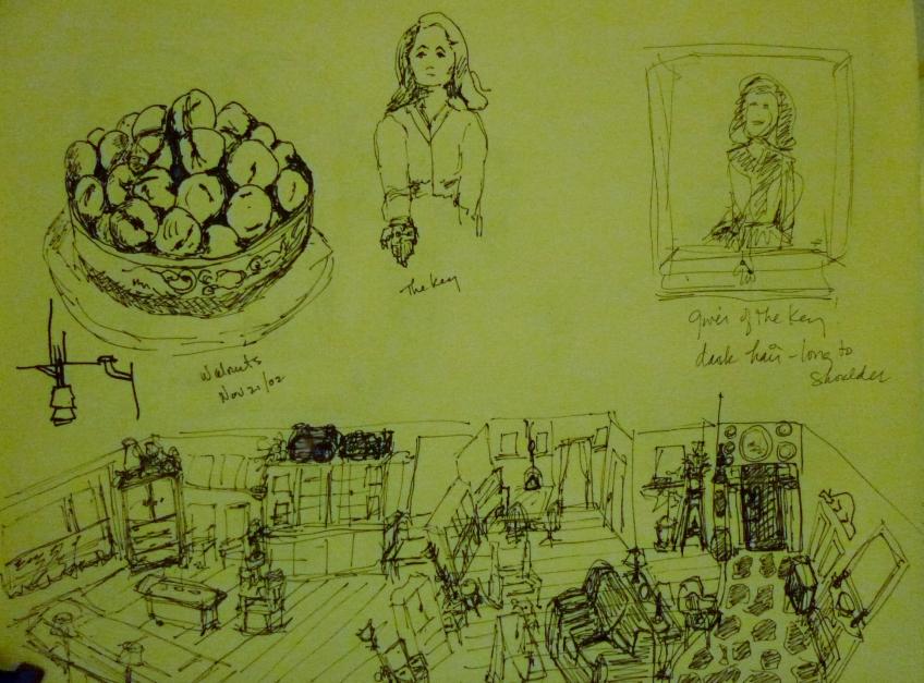 Tea Preville - 2002 - Dreams - ink