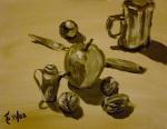 Tea Preville - 2002 - Still Life I - acrylic