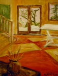 Tea Preville - 2003 - Sally's Studio - acrylic