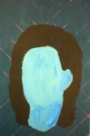 Tea Preville - 2003 - Self-portrait VIII - acrylic
