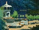 Tea Preville, Nelson Park, oil on board, 2015